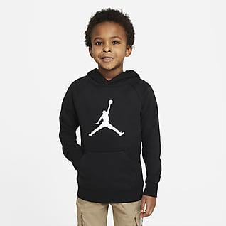 Jordan Sudadera con capucha sin cierre para niños talla pequeña