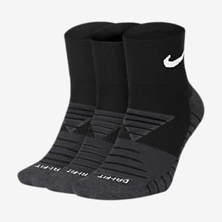 Nike Everyday Max Cushioned Κάλτσες προπόνησης μέχρι τον αστράγαλο (3 ζευγάρια)