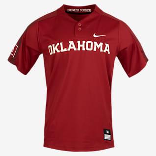 Nike College (Oklahoma) Camiseta de softbol de 2 botones