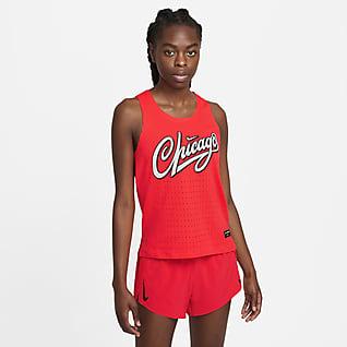 Nike Dri-FIT ADV AeroSwift Camiseta sin mangas de running para mujer