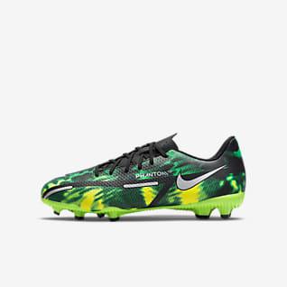 Nike Jr. Phantom GT2 Academy MG Chaussure de football à crampons multi-surfaces pour Jeune enfant/Enfant plus âgé