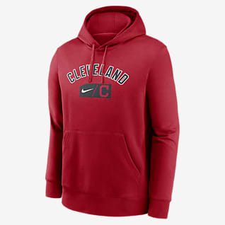 Nike Lettering Club (MLB Cleveland) Men's Pullover Hoodie
