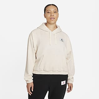 Jordan Essentials Women's Fleece Hoodie (Plus Size)