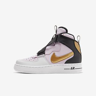 Kids Air Force 1 Shoes. Nike PT