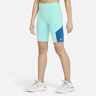 Nike Trophy Shorts de ciclismo para entrenamiento para niña talla grande