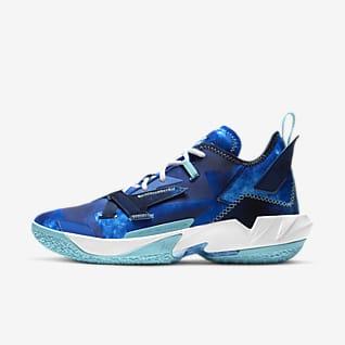 """Баскетбольные кроссовки Jordan """"Why Not?"""" Zer0.4 """"Trust & Loyalty"""" Баскетбольная обувь"""