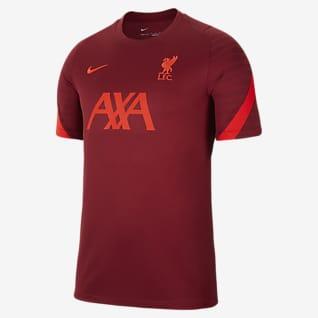 Liverpool FC Strike Kortermet fotballoverdel til herre