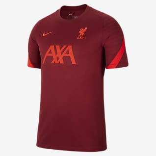 Liverpool FC Strike Rövid ujjú férfi futballfelső