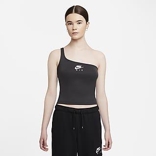 Nike Air Camisola sem mangas assimétrica para mulher