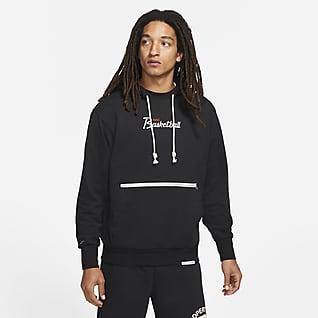 Nike Dri-FIT Standard Issue Sudadera con gorro sin cierre de básquetbol para hombre