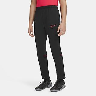 Nike Dri-FIT Academy Pantalones de fútbol para niños talla grande