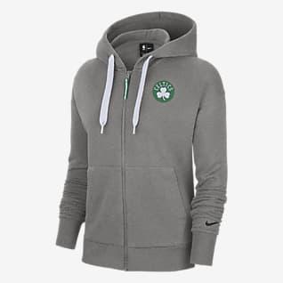 Boston Celtics Essential Women's Nike NBA Full-Zip Hoodie