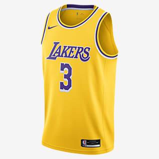 2020 赛季洛杉矶湖人队 (Anthony Davis) Icon Edition Nike NBA Swingman Jersey 男子球衣
