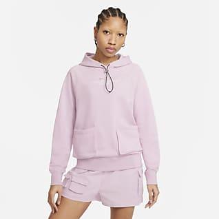 Nike Sportswear Swoosh Sudadera con capucha de felpa francesa para mujer
