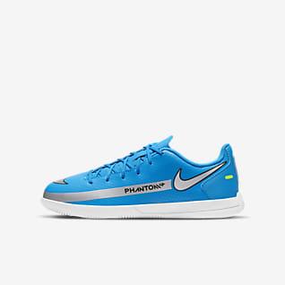 Nike Jr. Phantom GT Club IC Fotbollssko för inomhusplan/futsal/street för barn/ungdom