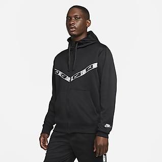 Nike Sportswear Pánská mikina skapucí azipem po celé délce