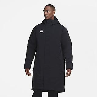 Nike F.C. Męska kurtka piłkarska z syntetycznym wypełnieniem