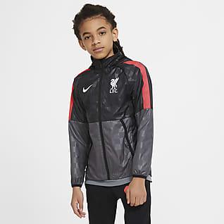 Liverpool FC AWF Chamarra de fútbol para niños talla grande