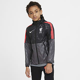 Liverpool FC AWF Fotbollsjacka för ungdom
