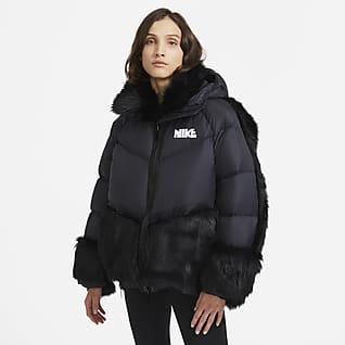 Nike x sacai เสื้อพาร์ก้าผู้หญิง