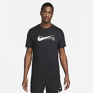Nike Dri-FIT T-shirt de treino com Swoosh para homem