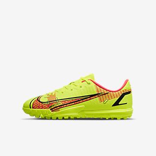 Nike Jr. Mercurial Vapor 14 Academy TF Botes de futbol per a moqueta-turf - Nen/a i nen/a petit/a