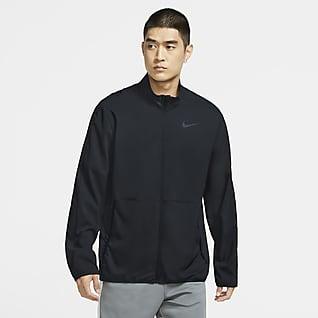 Nike Dri-FIT Herren-Trainingsjacke aus Webmaterial