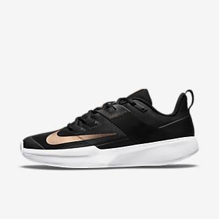 NikeCourt Vapor Lite Toprak Kort Kadın Tenis Ayakkabısı