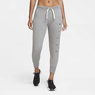 Nike Dri-FIT Get Fit Dámské tréninkové kalhoty s grafickým motivem