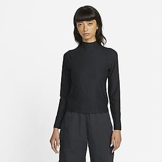 Nike Sportswear Icon Clash Maglia a manica lunga e collo a lupetto - Donna