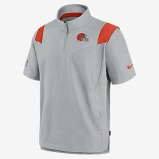 Nike Sideline Coaches (NFL Cleveland Browns) Men's Short-Sleeve Jacket
