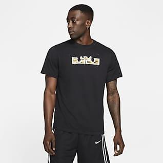 Nike Dri-FIT LeBron Logo Basketball-T-Shirt für Herren