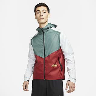 Nike Windrunner เสื้อแจ็คเก็ตวิ่งเทรลผู้ชาย