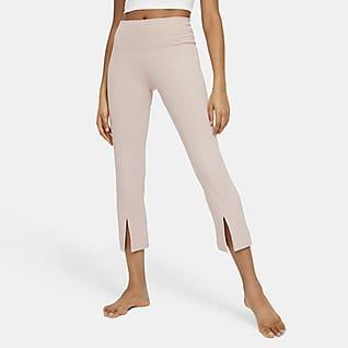Nike Yoga 女款羅紋九分褲