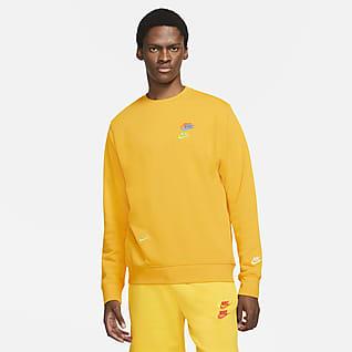 Nike Sportswear Essentials+ Fransız Havlu Kumaşı Erkek Crew Üstü