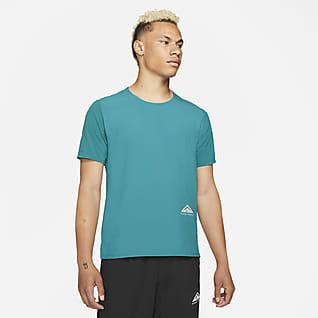 Nike Dri-FIT Rise 365 Trailrunningtop met korte mouwen