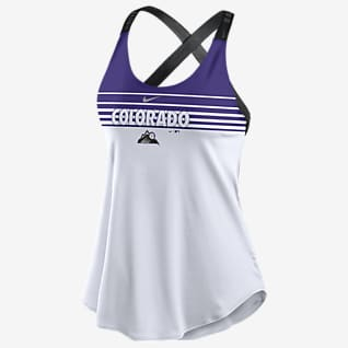 Nike Dri-FIT Stripe Elastika (MLB Colorado Rockies) Women's Tank Top
