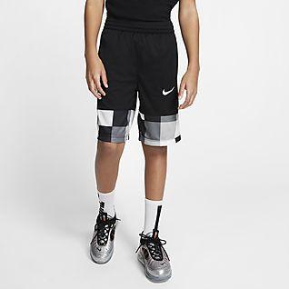 Nike Boys Dry Fly Printed Shorts Blue nwt $35
