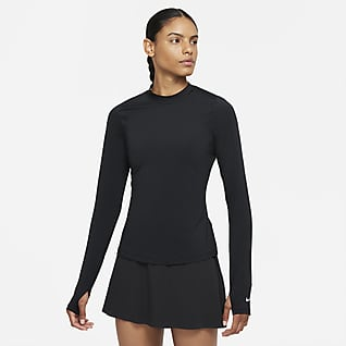 Nike Dri-FIT UV Victory Golftop met lange mouwen voor dames