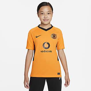 Kaizer Chiefs F.C. 2021/22 Stadium Thuis Nike voetbalshirt met Dri-FIT voor kids