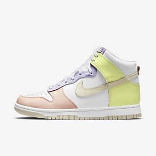 Nike Dunk High 女子运动鞋