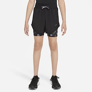 Nike Dri-FIT Tempo Běžecké kraťasy pro větší děti (dívky)