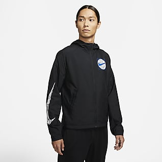 ナイキ エッセンシャル ワイルド ラン メンズ ランニングジャケット