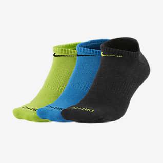 Nike Everyday Plus Cushion Calcetines invisibles de entrenamiento (3 pares)
