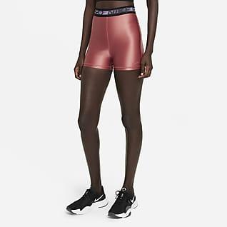Nike Pro Shorts de 18 cm y tiro alto para mujer