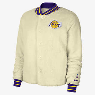 Los Angeles Lakers Courtside Giacca bomber Nike NBA - Donna