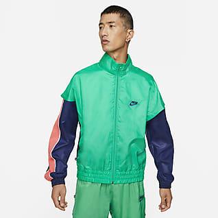 Giannis เสื้อแจ็คเก็ตวอร์มน้ำหนักเบาผู้ชาย