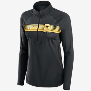 Nike Dri-FIT Element (MLB Pittsburgh Pirates) Women's 1/2-Zip Pullover