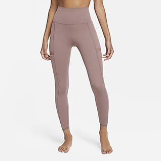 Nike Yoga Tights a 7/8 - Donna