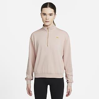 Nike Sportswear Femme Damen-Hoodie mit Viertelreißverschluss